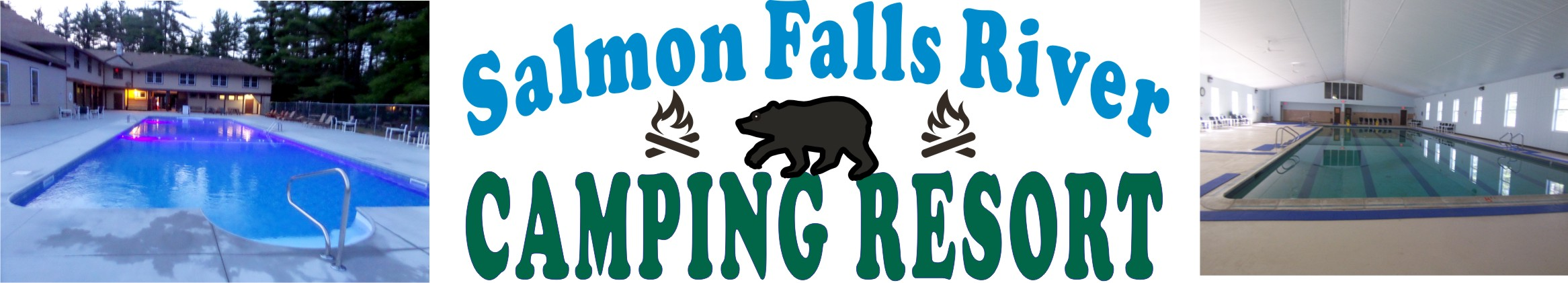 Salmon Falls River Camping Resort, Lebanon, ME.  Family and Pet Friendly RV and camping resort in southern Maine.